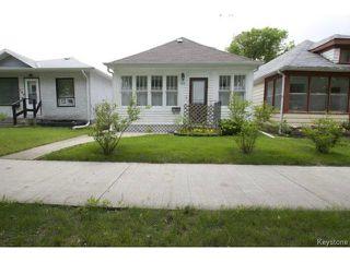 Photo 1: 111 Bristol Avenue in WINNIPEG: St Boniface Residential for sale (South East Winnipeg)  : MLS®# 1416232