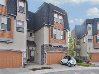Main Photo: 133 WENTWORTH Point SW in CALGARY: West Springs Townhouse for sale (Calgary)  : MLS®# C3627247