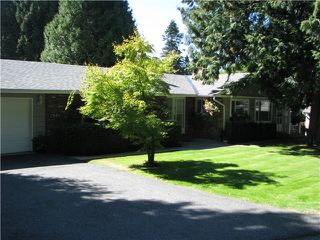 Photo 1: 2661 CEDAR Drive in Surrey: Crescent Bch Ocean Pk. House for sale (South Surrey White Rock)  : MLS®# F1421680