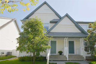 Photo 1: 5923 SOUTH TERWILLEGAR Boulevard in Edmonton: Zone 14 House Half Duplex for sale : MLS®# E4170842