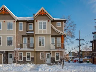 Main Photo: 2820 1 Street NW in Calgary: Tuxedo Park Row/Townhouse for sale : MLS®# A1055835