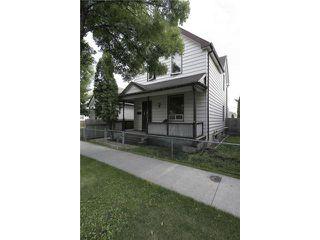 Photo 1: 826 Manitoba Avenue in WINNIPEG: North End Residential for sale (North West Winnipeg)  : MLS®# 1216948
