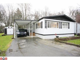 "Main Photo: 93 7850 KING GEORGE Boulevard in Surrey: East Newton Manufactured Home for sale in ""Bear Creek Glen"" : MLS®# F1223945"