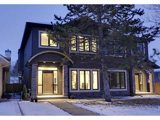 Photo 1: 3332 40 Street SW in CALGARY: Glenbrook Residential Attached for sale (Calgary)  : MLS®# C3548100