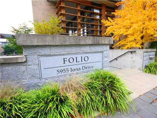 "Photo 2: 306 5955 IONA Drive in Vancouver: University VW Condo for sale in ""FOLIO"" (Vancouver West)  : MLS®# V1002898"