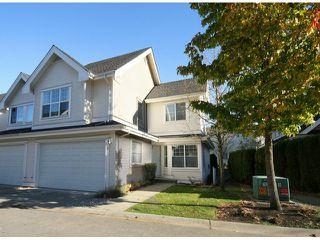 Photo 1: # 74 17097 64TH AV in Surrey: Cloverdale BC Townhouse for sale (Cloverdale)  : MLS®# F1326003