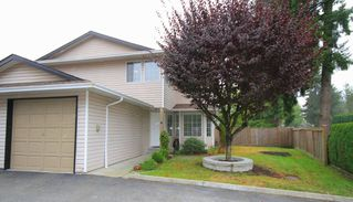 Photo 1: 6 21541 MAYO Place in Maple Ridge: West Central Townhouse for sale : MLS®# V975183