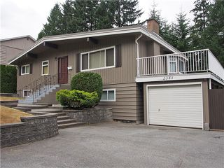 Photo 1: 2351 COMO LAKE Avenue in Coquitlam: Chineside House for sale : MLS®# V1022988