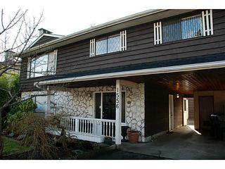Photo 1: 1556 WESTMINSTER AV in Port Coquitlam: Glenwood PQ House for sale : MLS®# V1047874