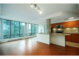 Photo 1: 1404 1288 W Georgia Street in Vancouver: West End VW Condo for sale (Vancouver West)  : MLS®# V1051406