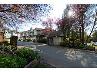 Photo 1: # 47 7465 MULBERRY PL in Burnaby: The Crest Townhouse for sale (Burnaby East)  : MLS®# V1112892