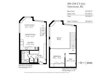 "Photo 20: 404 234 E 5TH Avenue in Vancouver: Mount Pleasant VE Condo for sale in ""Granite Block"" (Vancouver East)  : MLS®# R2435682"