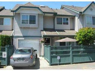 "Photo 1: 4 21015 118TH Avenue in Maple Ridge: Southwest Maple Ridge Townhouse for sale in ""AMARA PLACE"" : MLS®# V979527"