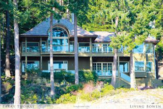 Main Photo: 1251 Fairweather Road in Bowen Island: Fairweather House for sale : MLS®# V1058136