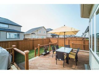 Photo 19: 16 Maple Creek Road in WINNIPEG: Fort Garry / Whyte Ridge / St Norbert Residential for sale (South Winnipeg)  : MLS®# 1419103