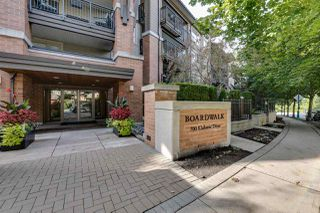 Photo 1: 322 700 KLAHANIE DRIVE in Port Moody: Port Moody Centre Condo for sale : MLS®# R2309869