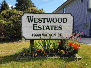 """Main Photo: 63 45640 WATSON Road in Sardis: Sardis West Vedder Rd Manufactured Home for sale in """"Westwood Estates"""" : MLS®# R2405041"""