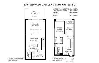"""Photo 25: 110 1350 VIEW Crescent in Delta: Beach Grove Condo for sale in """"The Classic"""" (Tsawwassen)  : MLS®# R2525571"""