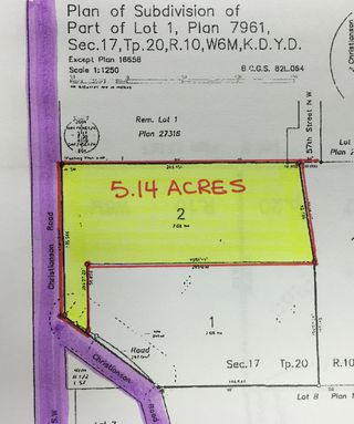 Photo 2: 190 SW Christison Road in Salmon Arm: Gleneden Vacant Land for sale : MLS®# 10118444