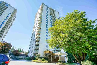 """Main Photo: 801 4160 SARDIS Street in Burnaby: Central Park BS Condo for sale in """"Central Park Place"""" (Burnaby South)  : MLS®# R2515075"""