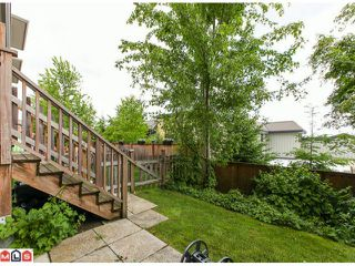 "Photo 10: 22 18701 66TH Avenue in Surrey: Cloverdale BC Townhouse for sale in ""ENCORE"" (Cloverdale)  : MLS®# F1215196"