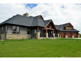 Photo 1: 30200 TWP RD 250 in CALGARY: Rural Rocky View MD Residential Detached Single Family for sale : MLS®# C3625221