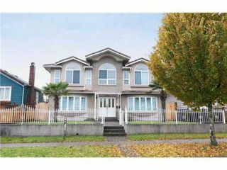 Main Photo: 1411 DUBLIN Street in New Westminster: West End NW House for sale : MLS®# V1078440
