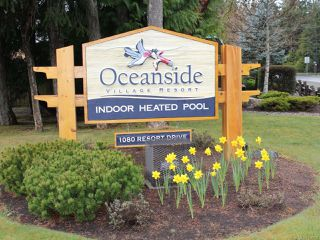 Photo 2: 128 1080 RESORT DRIVE in PARKSVILLE: PQ Parksville Row/Townhouse for sale (Parksville/Qualicum)  : MLS®# 836788