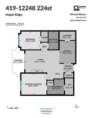 "Photo 37: 419 12248 224 Street in Maple Ridge: East Central Condo for sale in ""URBANO"" : MLS®# R2511898"