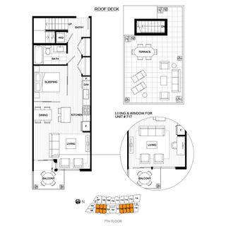 Photo 2: #704-396 E 1st Ave. in Vancouver: False Creek Condo for sale (Vancouver West)  : MLS®# Presale
