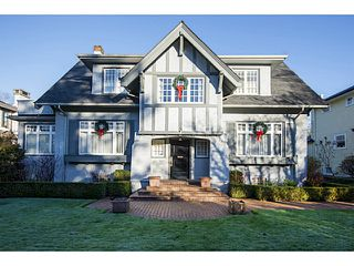 Photo 1: 1625 W 28TH AV in Vancouver: Shaughnessy House for sale (Vancouver West)  : MLS®# V1097713