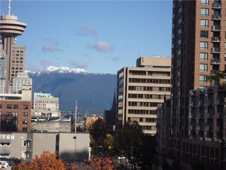 Photo 2: # 704 535 SMITHE ST in Vancouver: Downtown VW Condo for sale (Vancouver West)  : MLS®# V1116512