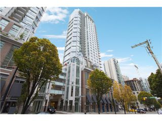 Photo 1: # 704 535 SMITHE ST in Vancouver: Downtown VW Condo for sale (Vancouver West)  : MLS®# V1116512