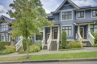 """Photo 1: 203 8485 NEW HAVEN Close in Burnaby: Big Bend Townhouse for sale in """"McGregor"""" (Burnaby South)  : MLS®# R2441535"""