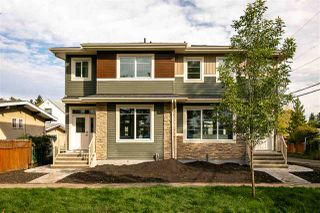 Main Photo: 10574 62 Avenue Avenue in Edmonton: Zone 15 House Half Duplex for sale : MLS®# E4174162
