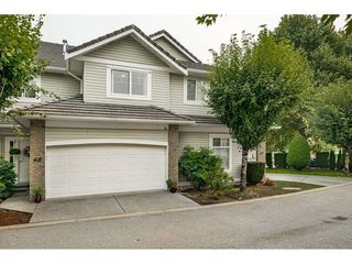 "Photo 1: 48 1290 AMAZON Drive in Port Coquitlam: Riverwood Townhouse for sale in ""CALLAWAY GREEN"" : MLS®# R2500006"