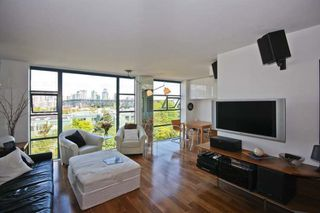 Photo 6: 402 1630 W.1st Avenue in The Galleria: False Creek Home for sale ()