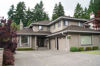 "Photo 1: 59 FOXWOOD Drive in Port Moody: Heritage Mountain House for sale in ""HERITAGE MOUNTAIN"" : MLS®# V1073411"