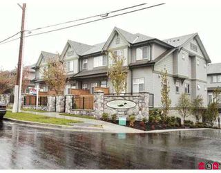 "Photo 1: 8726 159TH Street in Surrey: Fleetwood Tynehead Townhouse for sale in ""FLEETWOOD GREEN"" : MLS®# F2621767"