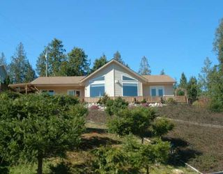 Main Photo: 6367 N GALE AV in Sechelt: Sechelt District House for sale (Sunshine Coast)  : MLS®# V581547
