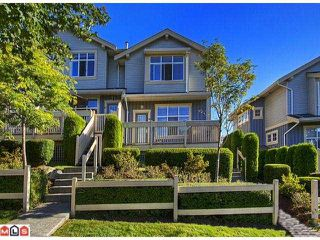 """Photo 1: 62 14959 58TH Avenue in Surrey: Sullivan Station Townhouse for sale in """"SKYLANDS"""" : MLS®# F1221341"""