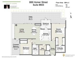 Photo 20: # 803 888 HOMER ST in Vancouver: Downtown VW Condo for sale (Vancouver West)  : MLS®# V1092886