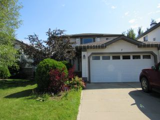 Photo 1: 7 Empress Way in St. Albert: Attached Home for rent