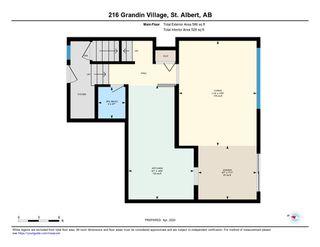Photo 22: 216 GRANDIN Village: St. Albert Townhouse for sale : MLS®# E4195028
