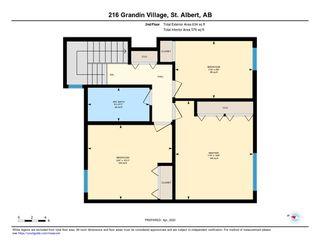 Photo 23: 216 GRANDIN Village: St. Albert Townhouse for sale : MLS®# E4195028