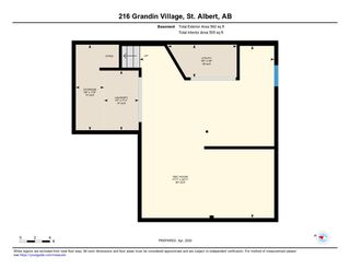 Photo 24: 216 GRANDIN Village: St. Albert Townhouse for sale : MLS®# E4195028