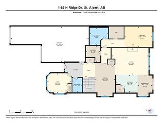Photo 48: 1 85 NORTH RIDGE Drive: St. Albert House Half Duplex for sale : MLS®# E4214414