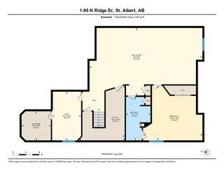 Photo 50: 1 85 NORTH RIDGE Drive: St. Albert House Half Duplex for sale : MLS®# E4214414