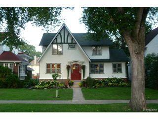 Photo 1: 82 Cordova Street in WINNIPEG: River Heights / Tuxedo / Linden Woods Residential for sale (South Winnipeg)  : MLS®# 1420748