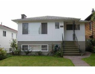 Photo 1: 3224 WILLIAM ST in Vancouver: House for sale (Renfrew VE)  : MLS®# V791921